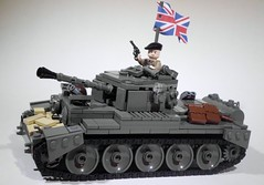 BRITISH CROMWELL TANK (Project Azazel) Tags: google tank lego britain images pa ww2 british ba custom cromwell wwll googleimages allied odg brickarms britishtank cromwelltank thesecondworldwar legoww2 ww2lego olddarkgrey