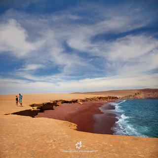 Playa Roja, Pisco, Peru