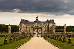 Entrance of Château de Vaux-le-Vicomte