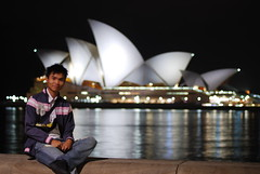 Jerry (J.D Chen ) Tags: christmas trip travel summer vacation house holiday nikon opera tour au working sydney australia nsw newsouthwales merry operahouse merrychristmas nite   backpackers whv d80  workingholidayvisa