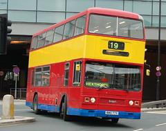 Brightbus Leyland Titan 5077.RMO77Y - Doncaster (dwb transport photos) Tags: bus titan leyland doncaster decker 5077 brightbus rmo77y