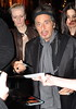 Al Pacino with lipstick-smudged lips The Afterparty for the Irish Premiere of 'Wilde Salome' - Departures Dublin, Ireland