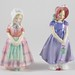 407. (2) Vintage Royal Doulton Figures of Young Girls