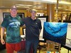 Tom and Wyland.  With painting