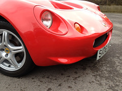 MK1 Lotus Elise in red (Roadsternumber6) Tags: red lotus elise mk1