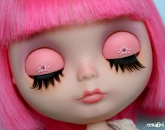 Beatrice's eyelids :)