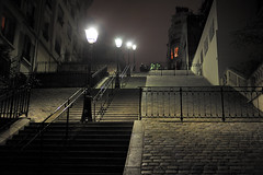 4 at Montmartre (jmvnoos in Paris) Tags: light paris france night stairs lights nikon streetlight stair streetlights pavement lumire perspective montmartre lamppost 100views nights railing railings nuit escalier lumires lampadaire pavements pavs escaliers lampposts pav rampe 15faves lightstandards nuits lampadaires lightstandard 5faves lampstandard 10faves 100comments rampes d700 lampstandards jmvnoos 10favesext 15favesext 5favesext ringexcellence dblringexcellence