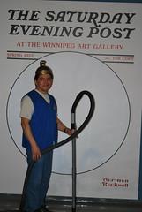 Jose (Winnipeg Art Gallery) Tags: art museum studio gallery winnipeg manitoba wag normanrockwell saturdayeveningpost winnipegartgallery americanchroniclestheartofnormanrockwell