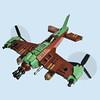 Karibachi San Zero - Sky Fighter (Fredoichi) Tags: plane fighter lego space military micro shooter shootemup skyfi shmup microscale dieselpunk skyfighter fredoichi