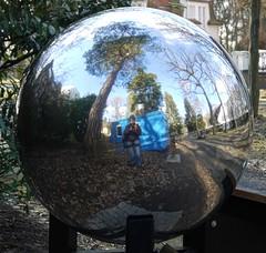 Spherical Self-Portrait (maramillo) Tags: blue reflection round selfie friendlychallenges herowinner maramillo