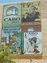 Outside Cabo Wabo (Traci L.A.) Tags: del mexico cabo san lucas villa baja arco wabo 2011