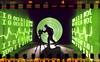 Digital analog (quornflake) Tags: longexposure urban lightpainting man green film night tunnel lighttrails trippy
