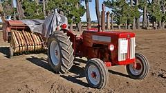 1962 International B-414 (Hugh McCall) Tags: barley countryside cattle sheep diesel wheat farming grain gas international petrol hay oats plowing dealership harvester mccormick implements ploughing deering cultivating b414
