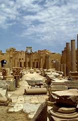 Leptis Magna, Libya (UltraPanavision) Tags: ruins unescoworldheritagesite libya romanempire leptismagna romanruins ancientrome