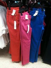 Coloured Skinny Jeans as worn by Kate Middleton (Karen Roe) Tags: fashion skinny tesco jeans coloured skintight katemiddleton
