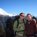 "Nick and Dad with Dhaulagiri <a style=""margin-left:10px; font-size:0.8em;"" href=""http://www.flickr.com/photos/14315427@N00/6989093597/"" target=""_blank"">@flickr</a>"