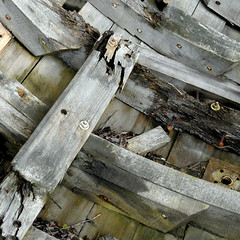 ship's hull (doc(q)man) Tags: wood square rust decay surface beam hull docman