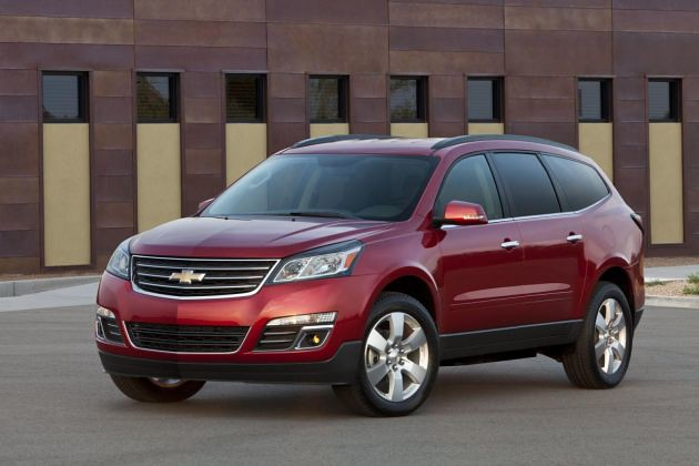 chevrolet traverse facelift 2013