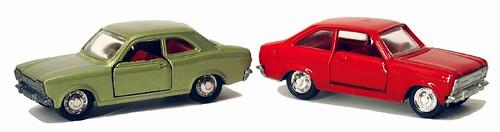 Schuco Modell Escort 1a e 2a serie