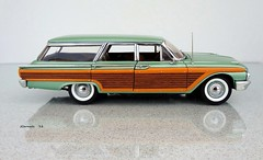 1961 Ford Galaxie Country Squire Station Wagon (JCarnutz) Tags: ford 1961 stationwagon diecast countrysquire franklinmint 124scale