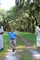 At the Gates of Whitehall (babyfella2007) Tags: road county new wood old trees patagonia white jason man tree history sc nature outside outdoors hope living hall george washington moss oak ally alley gate jasper tour thomas good gates live south low country great michelle grand historic southern spanish coastal plantation taylor carolina savannah oaks avenue leaning beaufort whitehall 2012 heyward carhart lowcountry ridgeland nasrstural