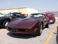 1981 Chevy Corvette (cjp02) Tags: show hot classic car truck silver john long lafayette antique indiana rod fujifilm custom aw in av200 cjp02 1981chevycorvette