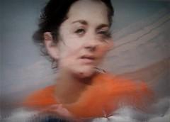 Soluble 95 (april-mo) Tags: portrait orange woman experimental soluble experimentalphoto womanportrait experimentalart unusualportrait experimentaltechnique solubleportrait