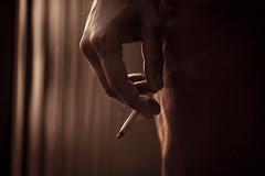 Smoke Kills (STUDIOTREDICI) Tags: sepia torino hand andrea smoking canon5d sigaretta vertone andreavertone studiotredici