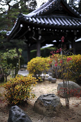 The Clean Garden (Yann LECOEUR Photography) Tags: roof red japan kyoto shrine tiles vegetation gion