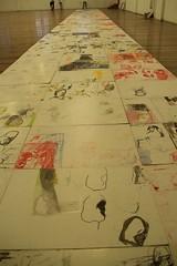 Autoportraits on the floor (Val in Sydney) Tags: art artwork sydney australia nsw biennale redfern australie carriageworks