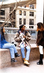 Students at Hunter College (Hunter College Archives) Tags: students 1996 yearbook hunter subwaystation 6train lexingtonave huntercollege 68thst wistarion thewistarion joselynmirabal markbentford marisolcabera