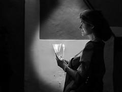 Devotion II (* Carlus Costa *) Tags: street light urban blackandwhite blancoynegro photography ibiza devotion fujifilm eivissa vela candel fotografa daltvila xpro1 carlusibiza