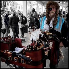 pirate pram | brixham (John FotoHouse) Tags: color colour photoshop square boat flickr ship fuji devon pirate cannon johndolan pram brixham selectivecolour 2016 dolan southdevon leedsflickrgroup johnfotohouse copyrightjdolan fujifilmx100s