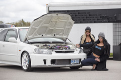 My EK @ CSCS (Emilio Ciccarelli | www.TWOLITREmedia.com) Tags: honda civic type r ctr jdm turbo bys seeker mugen mf10 neochrome ek9 ek