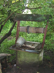Water well (Sasha India) Tags: fountain brunnen ukraine well sump ukraina pozo ucrania krynica  waterwell  perigi drawwell ukrajna            bilashi