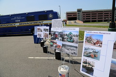 OEM Press Event/Logistics Staging Area (NYCDOT) Tags: park racetrack dot aqueduct area ozone staging logistics oem rockaways lsa nycdot nycoem