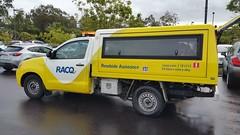RACQ to the rescue (Gillian Everett) Tags: rescue yellow truck 98 springs queensland 116 peregian 2016 racq