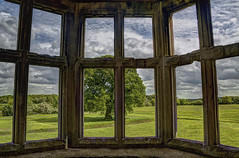 From an upstairs room in Lyveden (copyright:- Michael J Loveder) Tags: lyveden michaelloveder