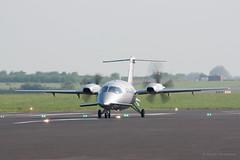 Avanti (Al Henderson) Tags: england airport unitedkingdom aviation bedfordshire gb piaggio cranfield avanti p180 egtc fhoie