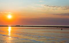 Golden Hour (tribsa2) Tags: sunset sea sky cloud seascape holland water netherlands dutch clouds 1 seaside zonsondergang tramonto post shoreline nederland noordzee wolken zee ciel northsea cielo nubes nuage nuages sunrisesunset crpuscule nordsee zon mage nube comment merdunord wolk zeegezicht noordpier caviardreams canoneos5dmarkii nederlandvandaag canonnl canonef70300mmf456lisusm caviardreamspost1comment1
