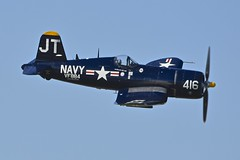 Flight 2, Chance Vought F4U-4 Corsair, N713JT, Sun 'n Fun International Fly-In, Florida (Peter Cook UK) Tags: show sun fun fly florida air n international f corsair chance lakeland flyin in 2016 f4u f4u4 vought n713jt