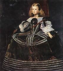 Portrait of Infanta Margarita Teresa, 1659 // by Juan Bautista Martinez del Mazo, after Velazquez (mike catalonian) Tags: portrait painting children spain fulllength baroque 1659 1650s xviicentury juanbautistamartinezdelmazo
