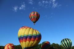IMG_1341 (thehachland) Tags: sunset fire flames balloon hotairballoons ballstonspa saratogacounty saratogacountyfairgrounds saratogaballoonandcraft