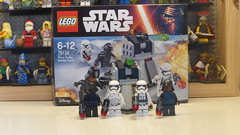 LEGO Star Wars 75132: First Order Battle Pack (Pinder Productions) Tags: starwars lego battlefront pinderproductions