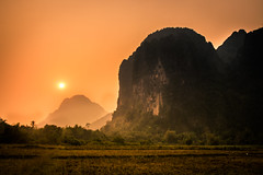 Jungle Experience (mikedeclerck) Tags: jungle adventure laos holiday vacation trees rocks mountains su sun sunset warm lightroom canon 700d contrast travel travelling travellers people nature natgeo natgeotravel naturelovers nationalgeographic
