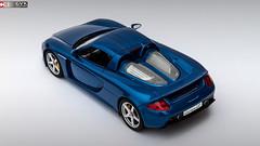 Porsche Carrera GT (Custom) (Gaurav's Domain) Tags: porsche carrera gt custom gvkcustoms cobalt blue mica tamiya autoart diecast model scalemodel scalemodels scale118 paint car awesome paul walker studio sports sportscar hyper hypercar