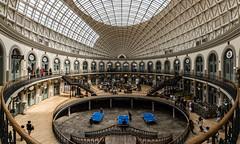 Leeds   |   Corn Exchange (JB_1984) Tags: uk england people panorama building architecture mall unitedkingdom balcony yorkshire leeds shoppingmall shops shoppers westyorkshire verticalpanorama cornexchange shoppingarcade vertorama yorkshireandthehumber