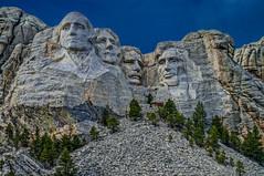 View from entrance to trails--DSC0052--Mount Rushmore, South Dakota (Lance & Cromwell back from a Road Trip) Tags: southdakota sony roadtrip nationalparkservice mountrushmore rocksculpture 2016 sonyalpha mountrushmoresd