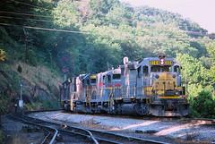 CRR 3004               6-23-81 (C E Turley) Tags: railway va boody clinchfield