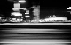 night by train - berlin (look-book) Tags: blackandwhite bw white black berlin blancoynegro film analog train 35mm blackwhite foto noiretblanc trix d76 fotos sw konica analogue bahn hexar lookbook selfdeveloped f20 analogous analogicas anlogo